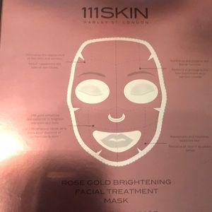 111SKIN rose gold facial masks